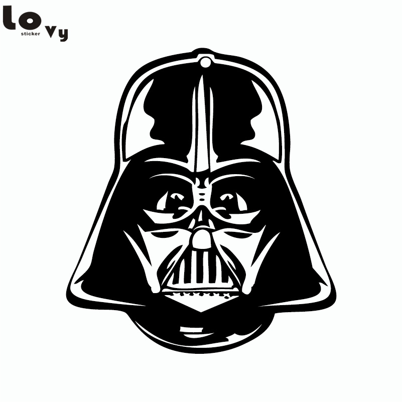 Klasik Movie Star Wars Duvar Sticker Darth Vader Vinil Duvar Çıkartması Ev Dekorasyonu