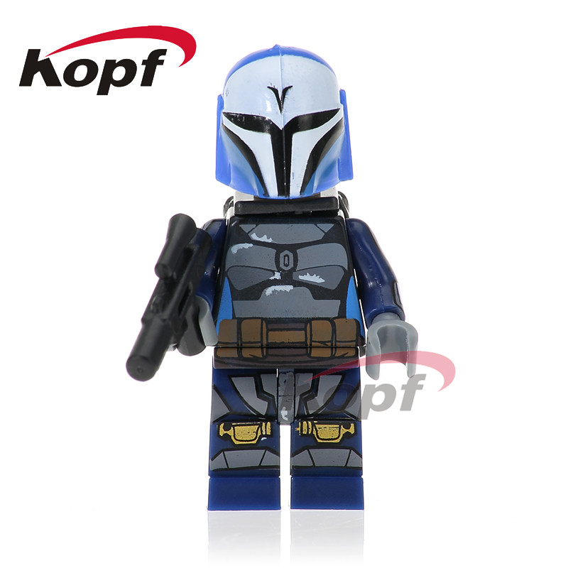 Tek Satış Star Wars Clone Trooper Darth Raven Dengar Bounty Hunter Kuvvet PG743 Uyandırmak Yapı Blokları Oyuncaklar çocuklar için